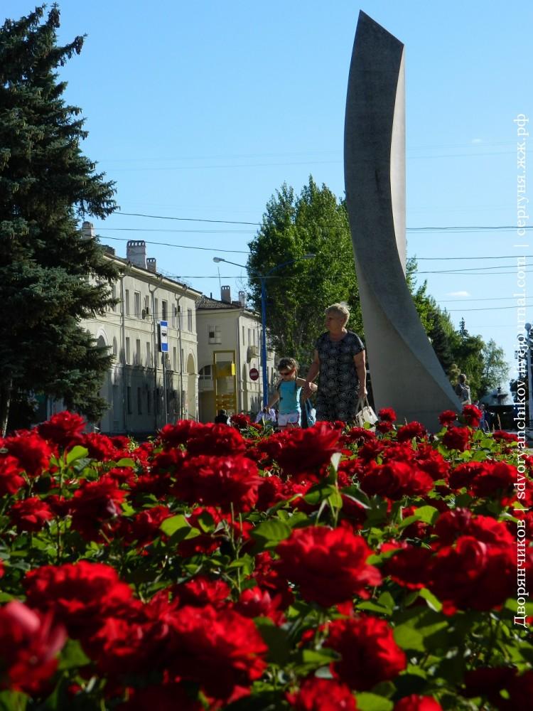 Волжский - ДК ВГС 7 июня розы (3).JPG