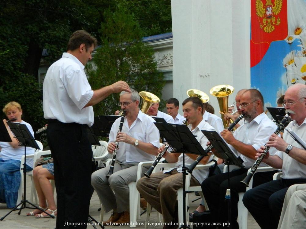Волжский - оркестр в парке Дк Вгс - 20 июня (6).JPG