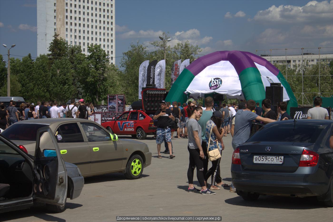 Очередные соревнования по Автозвуку состоялись в Волжском. В отличие от прошлого года, нынешний Автозвук получился намного скромнее. Место проведения - Парк Волжский 19-05-2018 :)