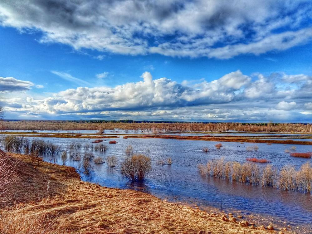 03 река большая Коряжемка, 05 мая 2021, фото на мобильный