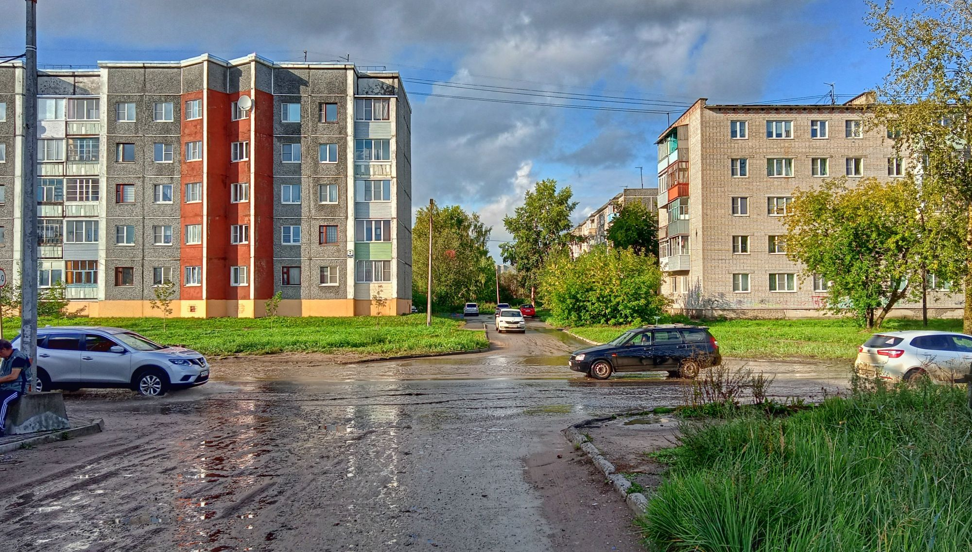 Коряжма. 23 августа 2021. ул. Архангельская.