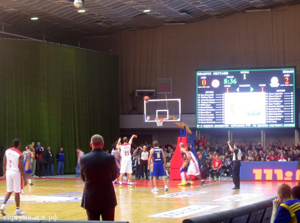 Волгоград баскетбол Красный-Химки (07)