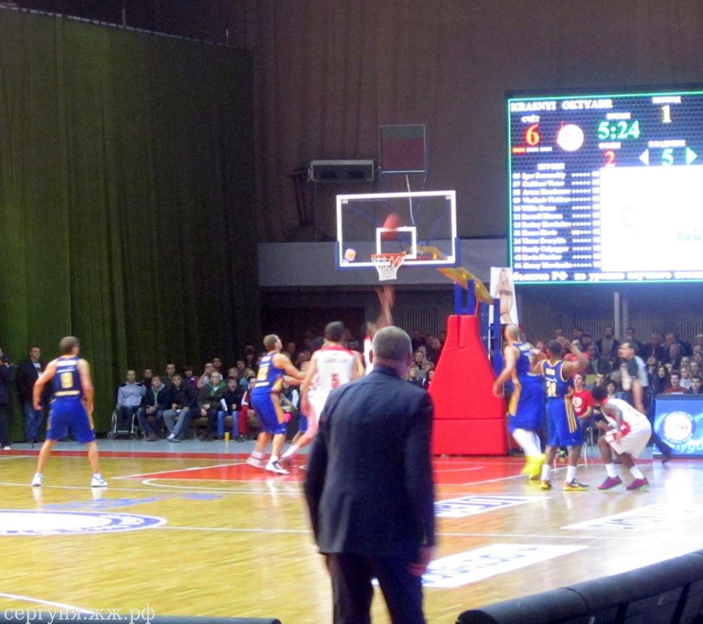 Волгоград баскетбол Красный-Химки (10)