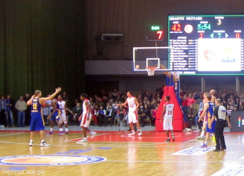 Волгоград баскетбол Красный-Химки (14)