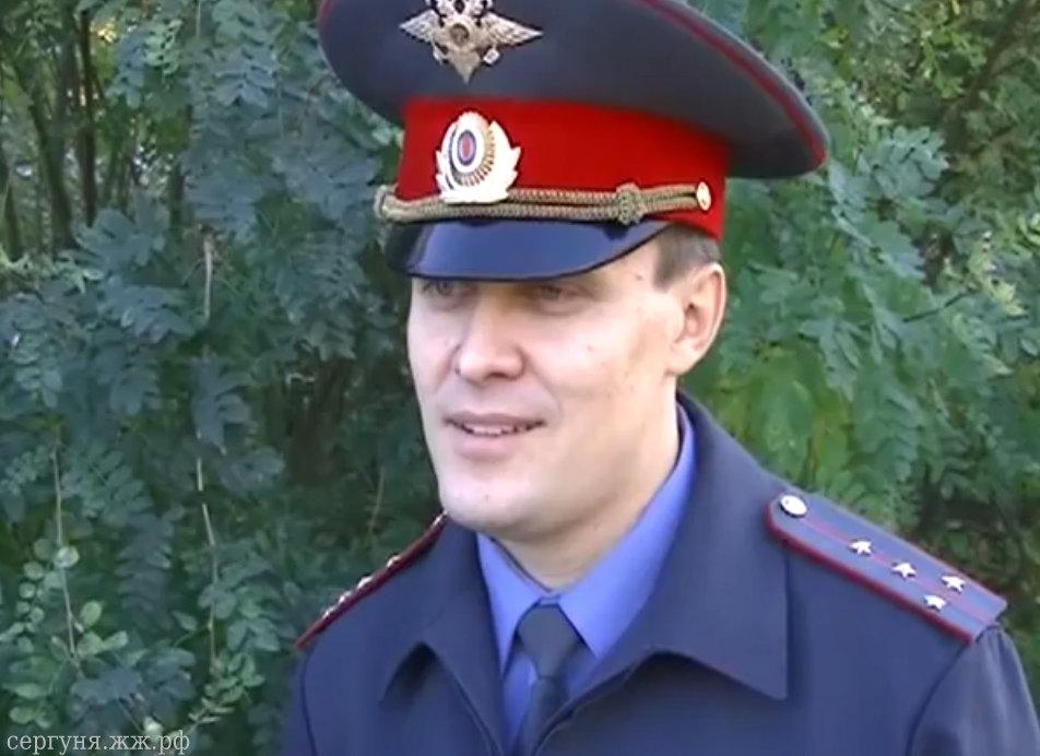 Вячеслав Олешков, участковый г. Коряжма (Архангельская область)