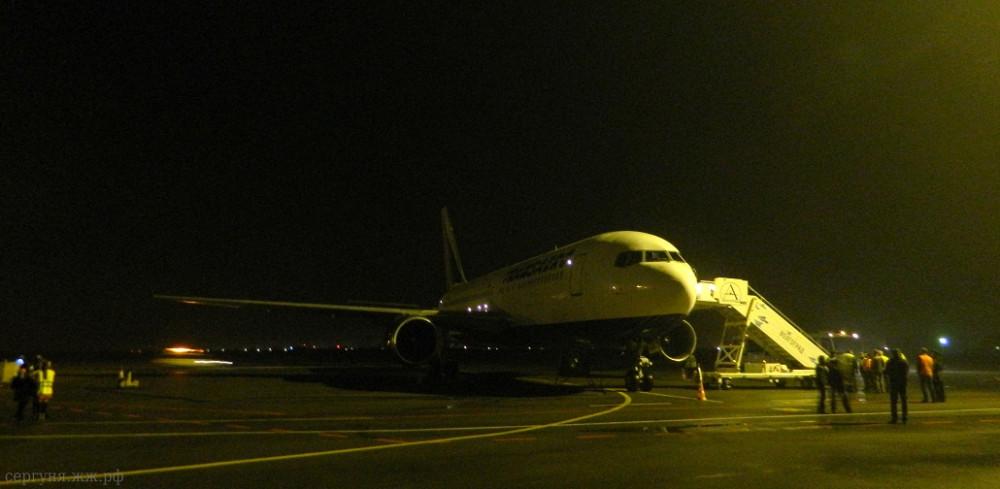 Боинг 767, Волгоград, Трансаэро