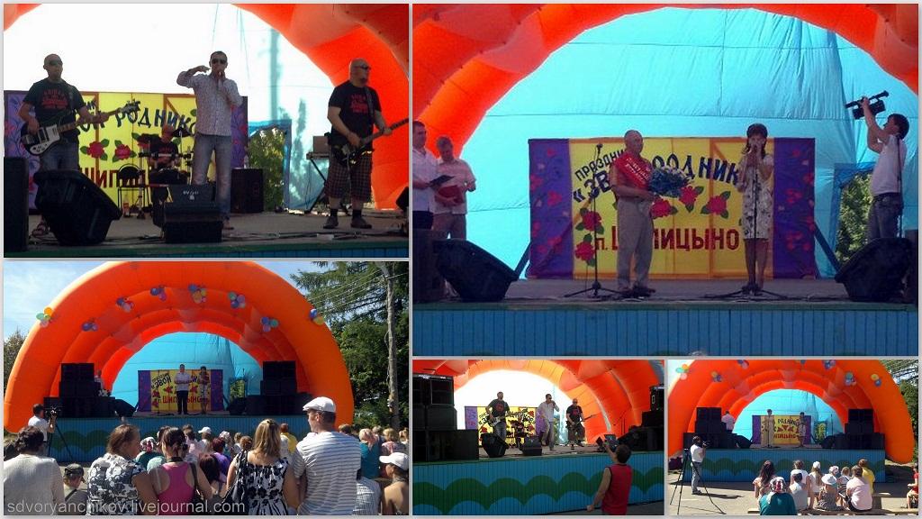 коллаж - праздник Звон Родников в Шипицыно