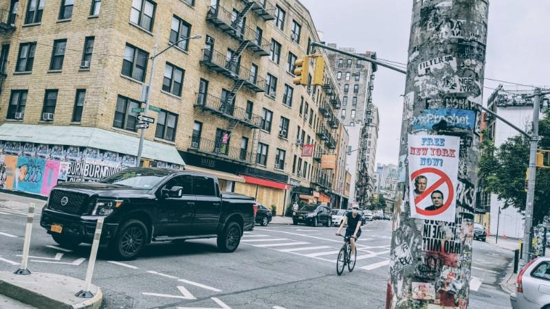 Самый обычный день лета 2020 года в Нью-Йорке