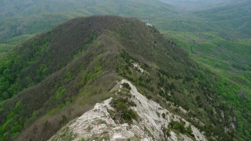 Вид на восточный Папай