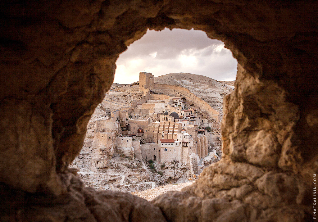 Mar Saba Monastery photo by Einat Kalinin
