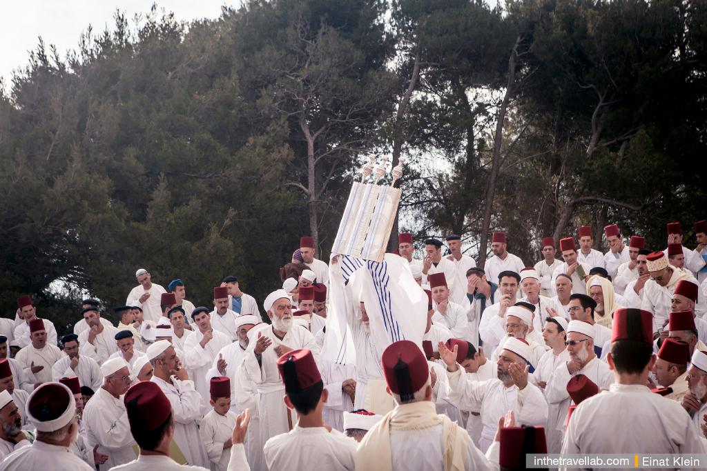 Samaritans, mount Grizim. Photo by Einat Klein