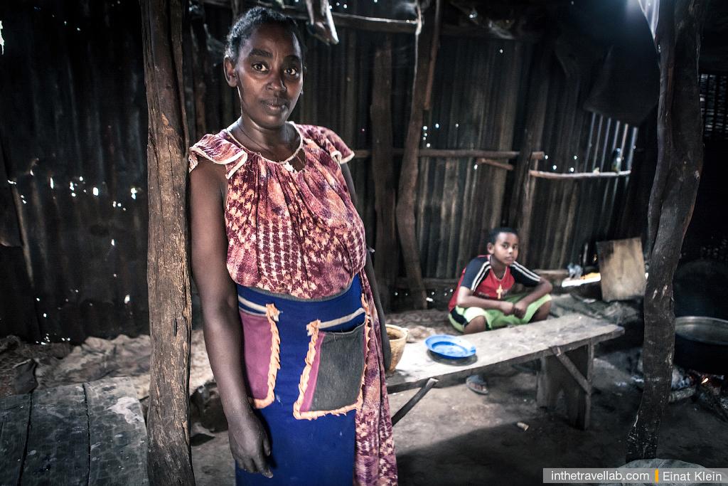 Dimeka village, Ethiopia