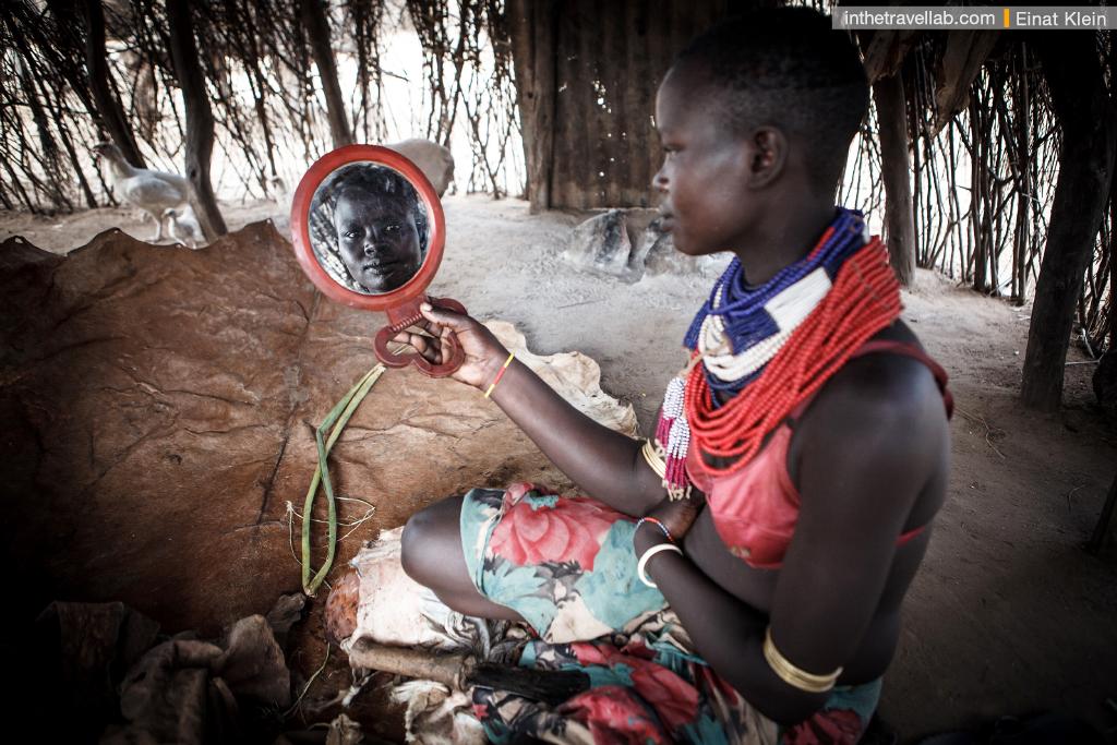Karo woman, South Ethiopia