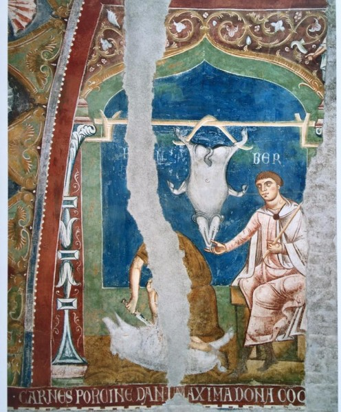 Nov Roma, monastero dei Santi Quattro Coronati al Celio, Aula Gotica – XIII secolo