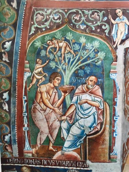Aug  Roma, monastero dei Santi Quattro Coronati al Celio, Aula Gotica – XIII secolo
