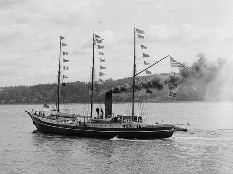 Яхта Рузвельт