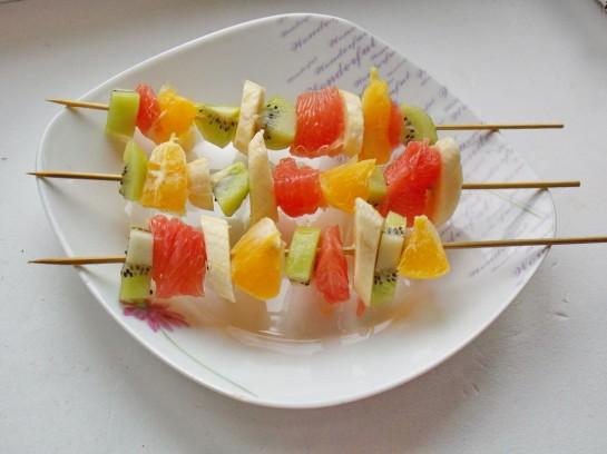 фруктовый шашлык 1