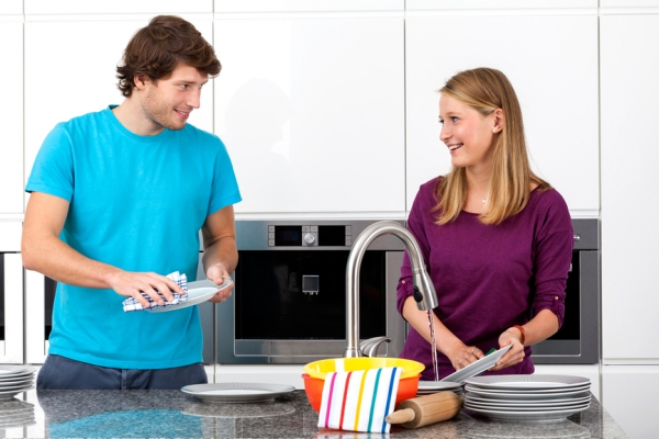 муж - помощник по дому