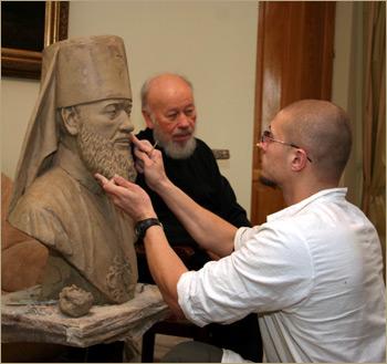 скульптор Игорь Белов