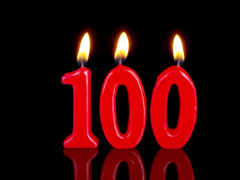 100 лет дедушке