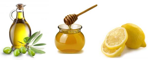 растительное масло-мед-лимон