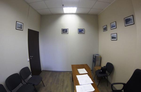 офис без окон