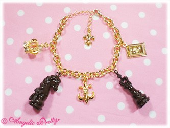 Angelic Pretty Chess Chocolate Bracelet brown