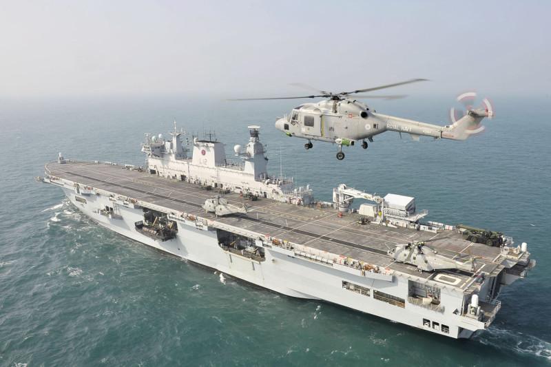 HMS-Ocean-Royal-Navy