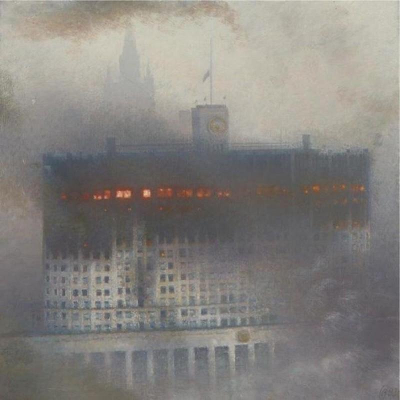 dom-pravitelystva-rossiyskoy-federatsii--moskva--1993-god