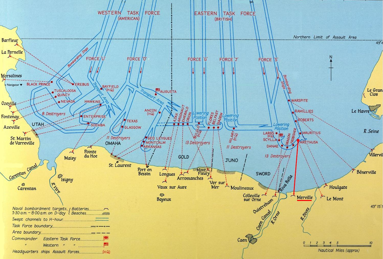 Hms_arethusa_map