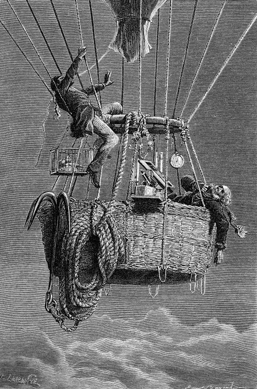 Ballonrekordflug_Glaisher_und_Coxwell