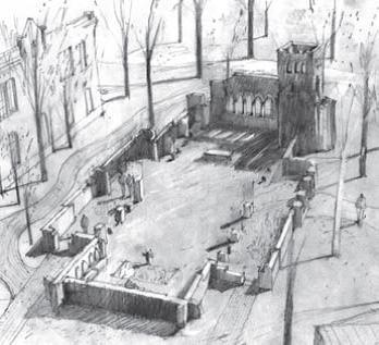 1881 Memorial Garden at VTS