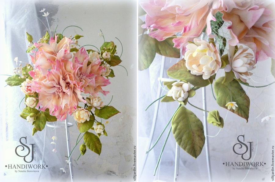 Ранункулюсы из фоамирана /Flowers foamirana... - YouTube