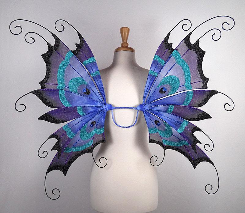 Волшебные крылья как сделать