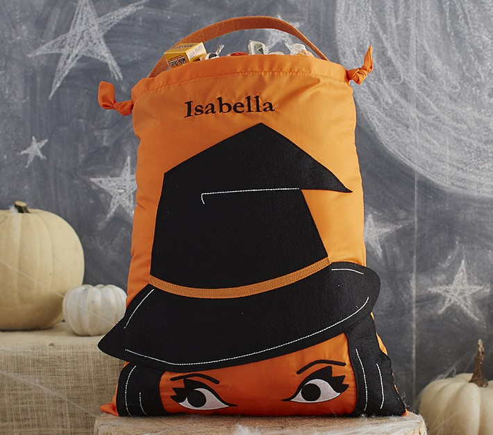 Pottery Barn Kids Invisible Ink: Halloween на Sees-All-Colors. Детские сумки для сладостей