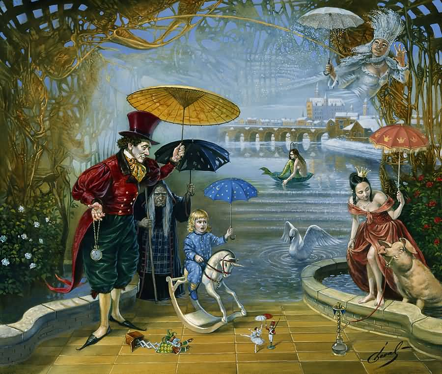 Dream Flood in Fairyland (H.C.Andersen)