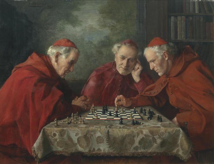 Эрвин Айхингер (1892-1950) Шахматы.