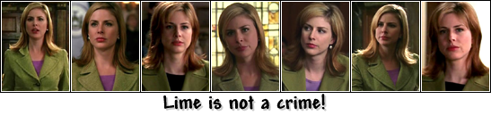 Lime is NOT a crime, but Casey Novak IS Love!