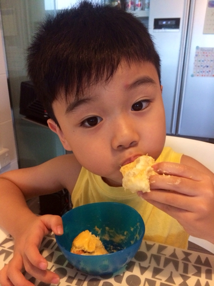 The durian-loving boy