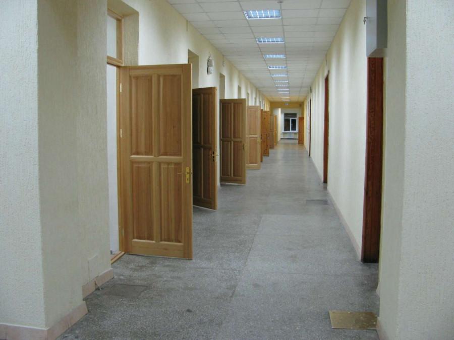 Коридор НГУ 3 этаж