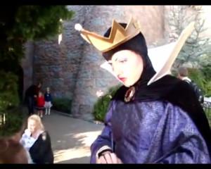 evil queen at disneyland