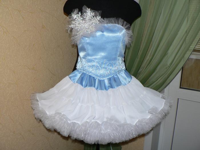 Платья для снежинок