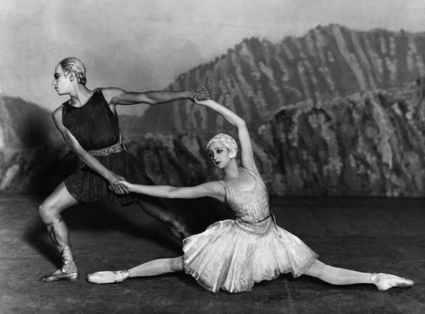 6 - русские сезоны Alexandrova Danilova and Serge Lifar 1928