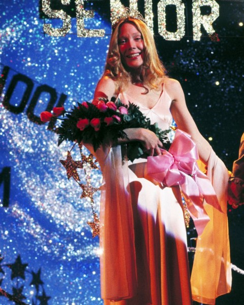 1976 Carrie White played by Sissy Spacek is unexpectedly elected prom queen in Brian De Palma s horror film Carrie. Photo Getty Images.jpg