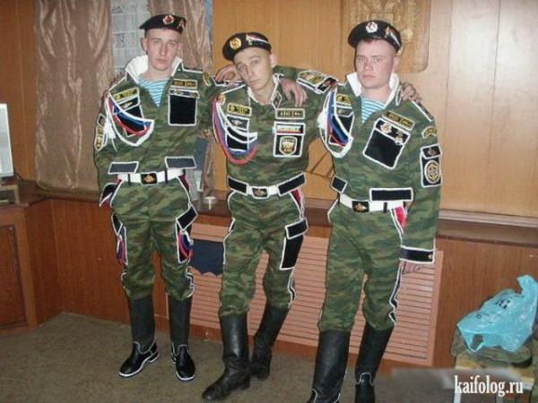 Военная мода. Дембели в России vs ветераны в США.