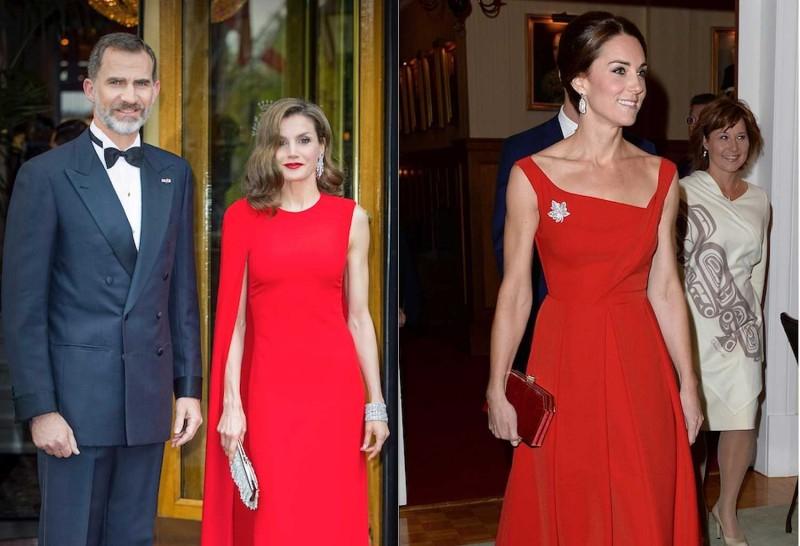 Политические разборки на модном уровне. 6 queen-letizia-red-dress-kate-middleton.jpg