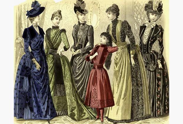 2  Парижские моды 1889 года.jpg