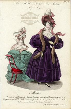 2 Парижские моды, середина XIX века.jpg