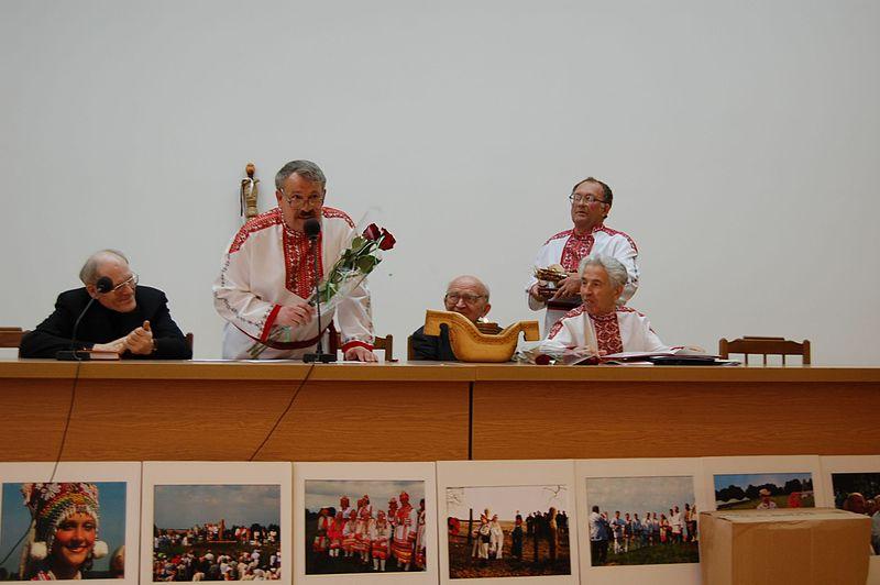 День эрзянского языка (эрз. Эрзянь Келень Чи), Саранск, 16 апреля 2008.jpg