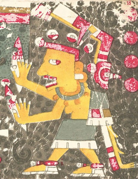 _Mictlancihuatl, Aztec goddess of the underworld  Borgia Codex.jpg